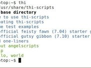 thi-script base directory