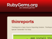 Library for Ruby (RubyGems)