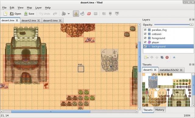 Tiled скриншот