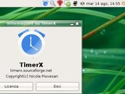 Timerx System Tray icon