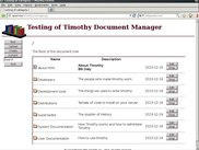 Root of Timothy Document T