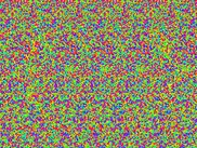 Random-dot autostereogram, calculated by TIM