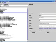 Screenshot of one of the first demo's, with a search input..