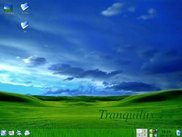 The default Tranquilux Desktop