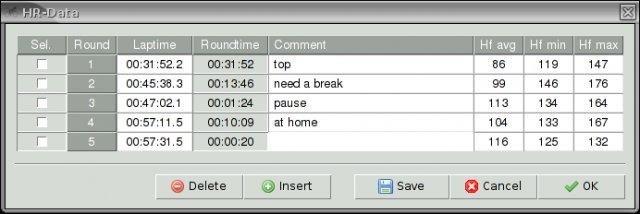 Triathlon Training Diary screenshot