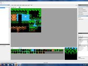 Using the TileSet Editor for a background tileset