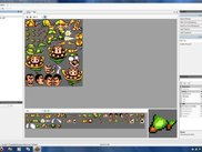 Editing a character tileset using the TileSet Editor