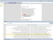 TXM web GWT App with Concordance and Edition in Firefox
