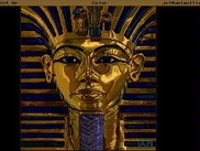 A screenshot of the King Tut image loaded in.