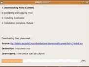 UNetbootin downloading files on Ubuntu Linux