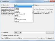 UNetbootin main dialog on Windows 7