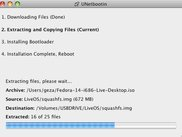 UNetbootin extracting  ISO file on Mac OS X