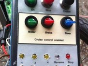 Panel for C2 dual-control box