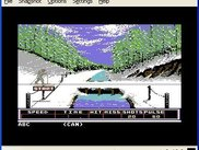 Winter games on the C64: Biathlon