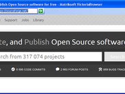 Browsing SourceForge