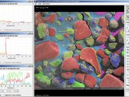 Virtual Lab Interface (viewing EDS data)
