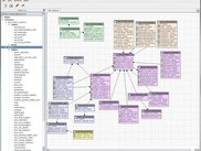 Colorized database schema