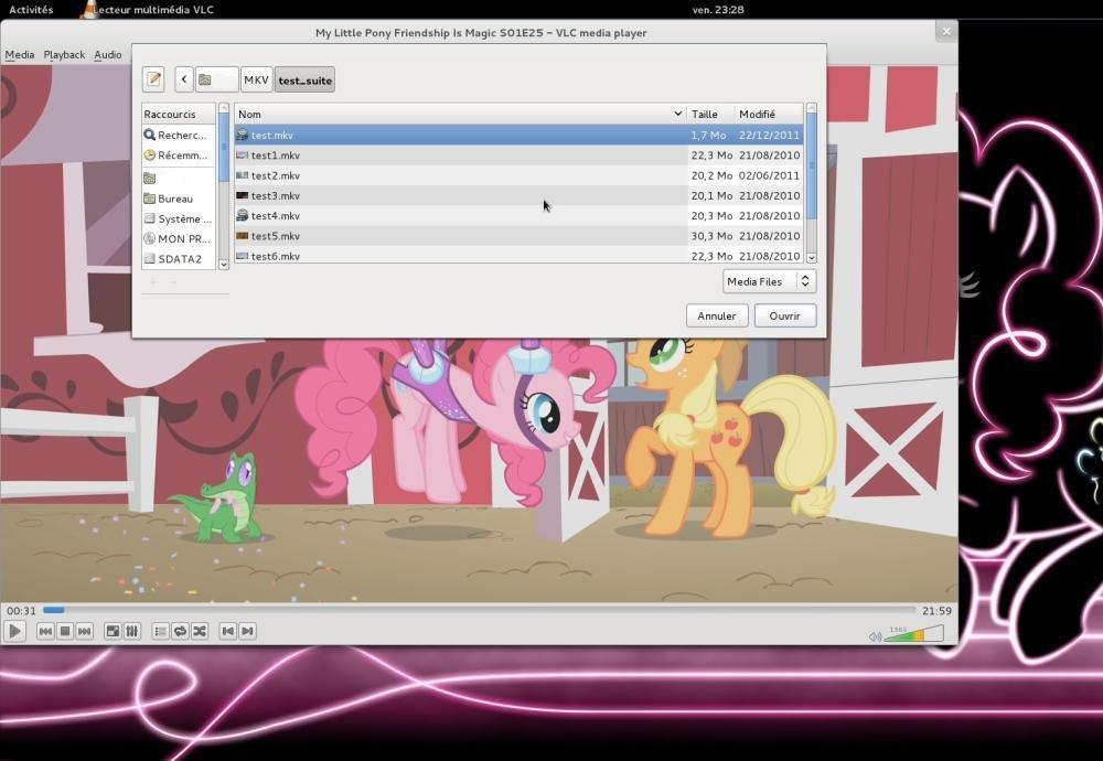 VLC on Debian