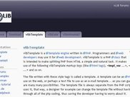"vLIB - Description for ""vlibTemplate"" on ""vlib.clausvb.de"