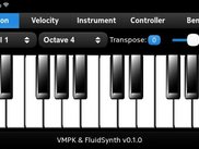 VMPK & FluidSynth 0.1.0 for Meego Harmattan