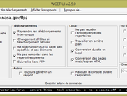 Interface Graphique pour WGET - WGET GUI Graphical Interface