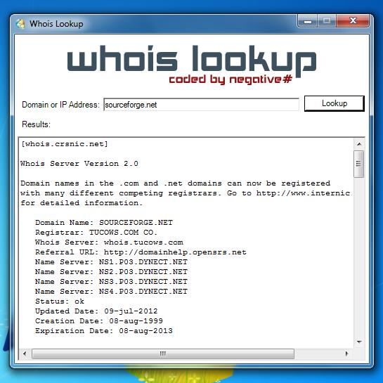 Whois Lookup - Keywordsfind.com