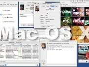 Mac OS X desktop with wija