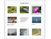 An Image gallery