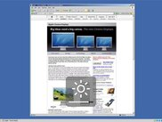 Desktop with the ACDMon window