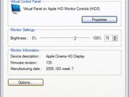 Apple HID Monitor Virtual Controls Panel