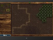 Game screen of Orc Level 1 running in WinRT simulator