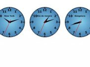 Five clocks, standard config