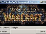 WoWShots is ready to begin converting screenshots.