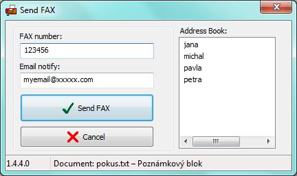 how to send fax through internet