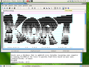 wxMEdit - view ASCII-Art file under FreeBSD
