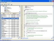 wx.NET sample: STC code editor