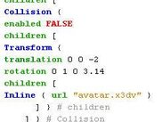 Syntax colors