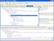 Debugger sets breakpoints and evaluates conditions