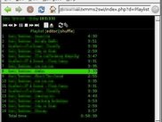 XMMS2SWI playlist in netsurf graphical browser