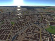 Amsterdam from OSM-3D