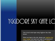 Firefox addon - YggDore Sky Gate Toolbar is used login