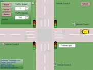traffic light simulation
