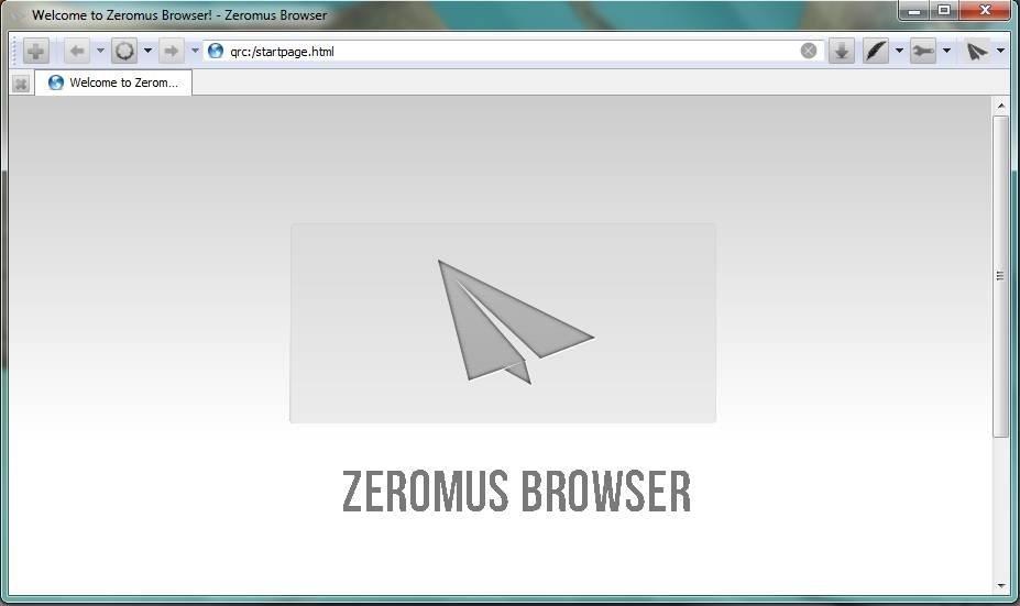 zBrowser screenshot