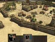 1) Game Interface: Showing an in-progress Iberian city