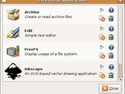 Managing applications from GNOME