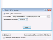 Configure path to ps2pdf executable
