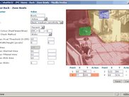 Zone editing view showing zone outline and settings.