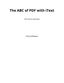 The ABC of PDF with iText