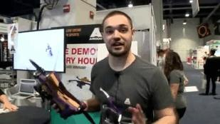 Drone, Drone, Everywhere a Drone -- at CES (Video)