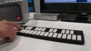 A Versatile and Rugged MIDI Mini-Keyboard  (Video)